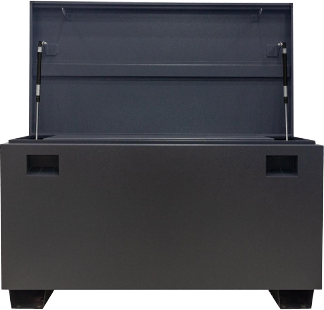 Dark Gray Jobsite Tool Storage Box